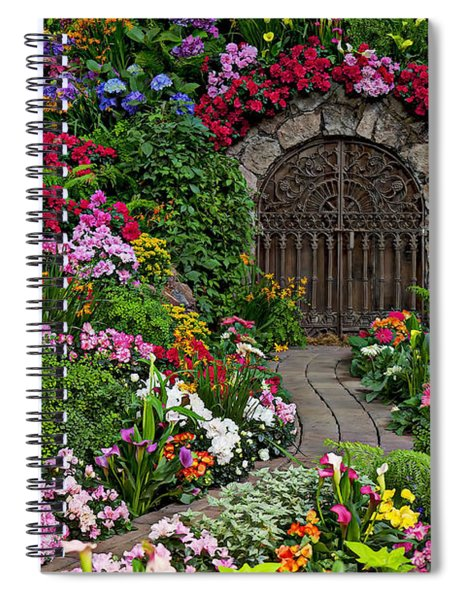 Wine Celler Gates  Spiral Notebook