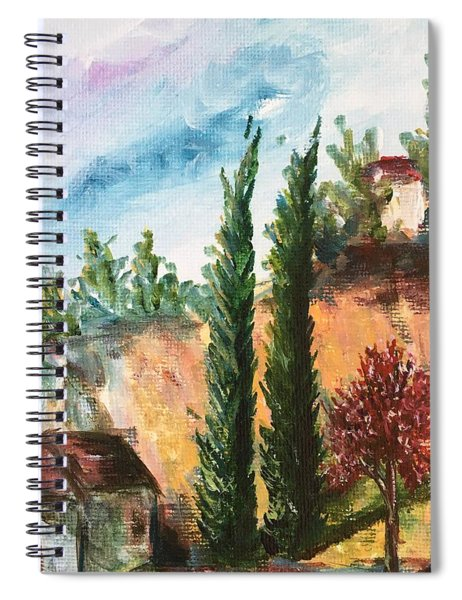 View Of Rancho California Road Spiral Notebook