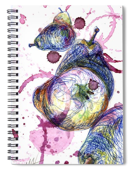 Wine Pearing Spiral Notebook