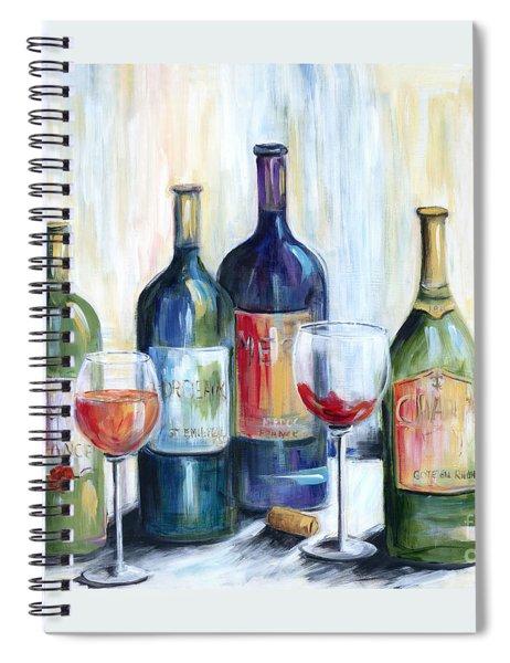 Wine Time Spiral Notebook
