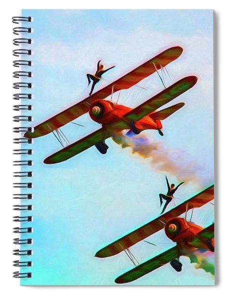 Wing Dancers Art Spiral Notebook