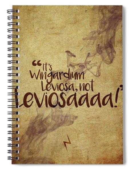 Wingardium Spiral Notebook