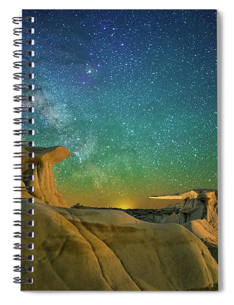 Winged Guardians Spiral Notebook
