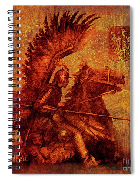 Winged Hussar 2016 Spiral Notebook