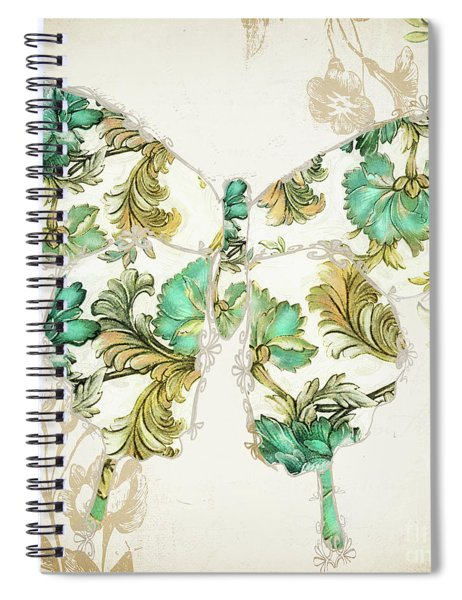 Winged Tapestry I Spiral Notebook