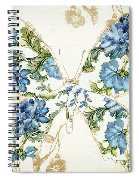 Winged Tapestry Iv Spiral Notebook