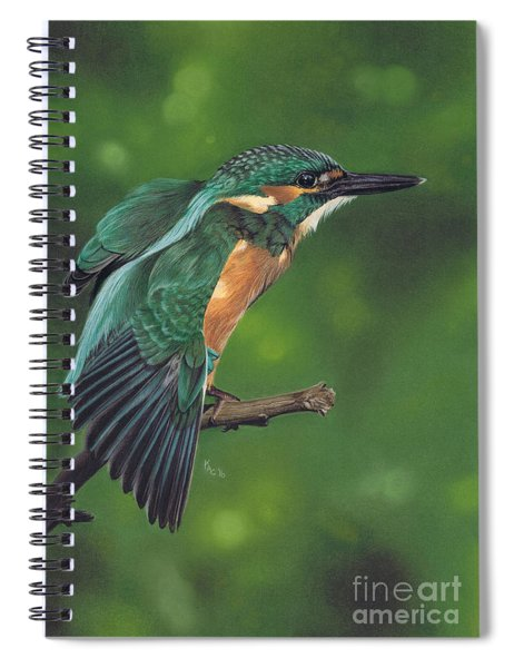 Winging It Spiral Notebook