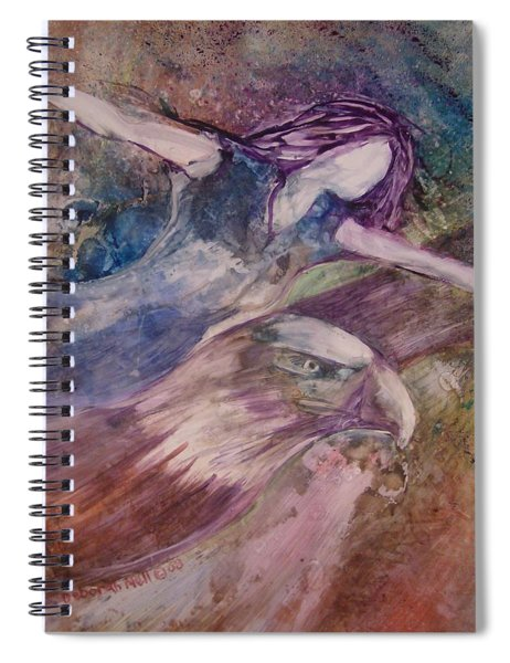 Wings Like Eagles Spiral Notebook