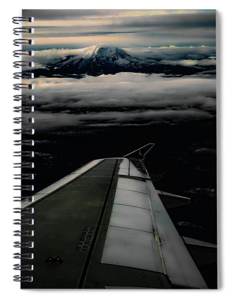 Wings Over Rainier Spiral Notebook