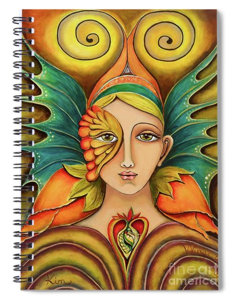 Wings To Fly Spiral Notebook