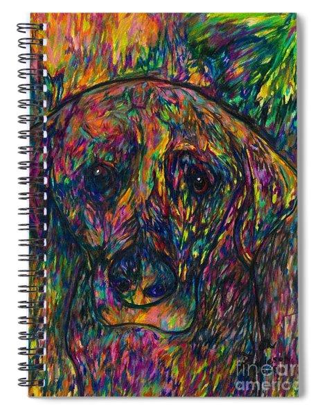 Winnie The Dog Spiral Notebook