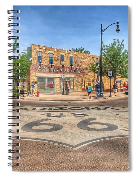 Winslow Arizona Spiral Notebook