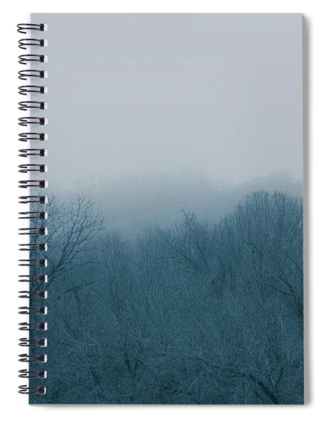 Winter Afternoon Spiral Notebook