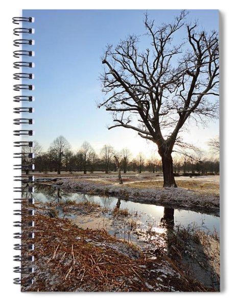 Winter Landscape Spiral Notebook