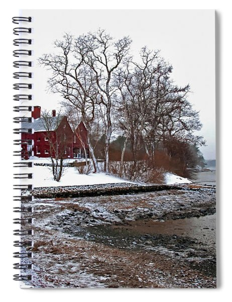 Winter At Perkins House  Spiral Notebook