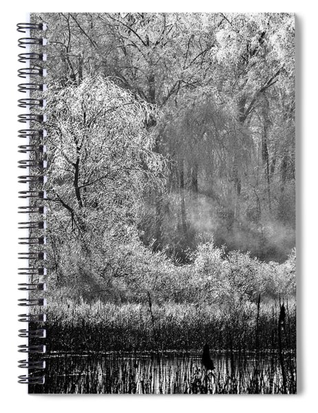 Winter Blossoms Spiral Notebook