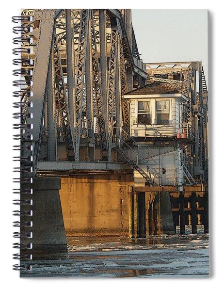 Winter Bridgehouse Spiral Notebook