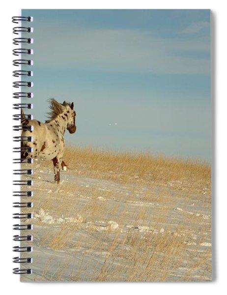Winter Charger Spiral Notebook