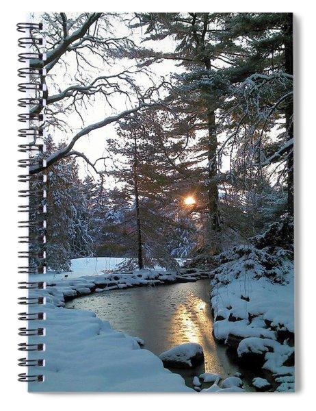 Winter Creek Spiral Notebook
