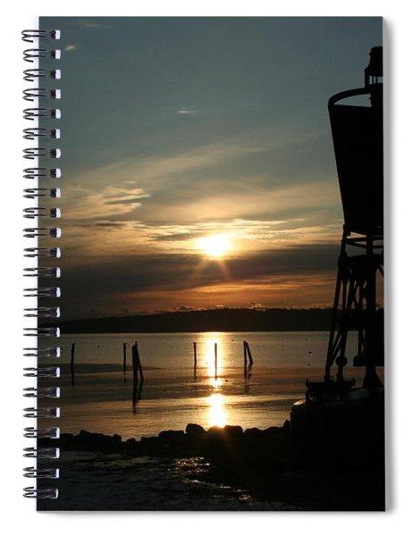 Winter Dawn Spiral Notebook