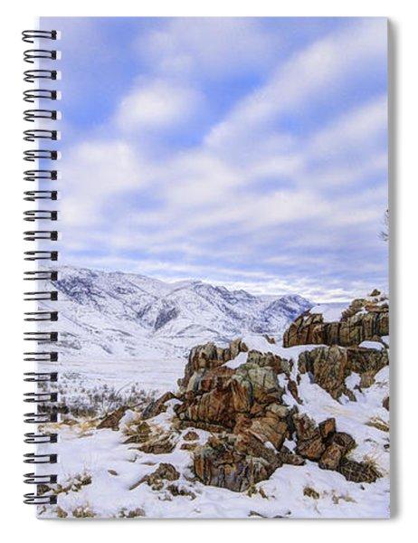 Winter Desert Spiral Notebook