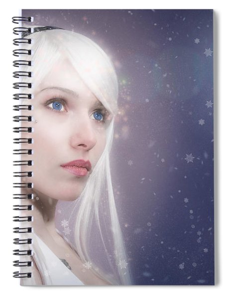 Winter Fae Spiral Notebook