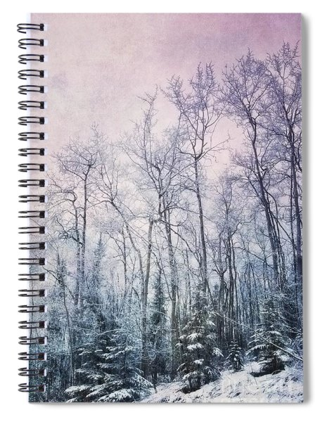 Winter Forest Spiral Notebook by Priska Wettstein