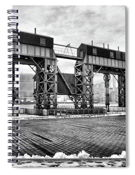 Winter Gantry Spiral Notebook