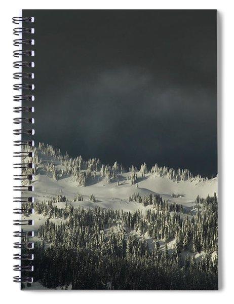 Winter In North Cascades Spiral Notebook