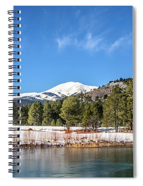Winter In Ruidoso Spiral Notebook