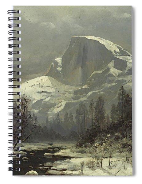 Winter In The Yosemite Valley Spiral Notebook