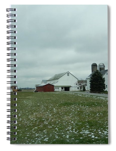 Winter Letting Go Spiral Notebook
