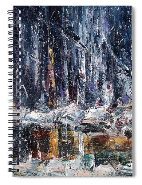 Winter Light Iv Spiral Notebook