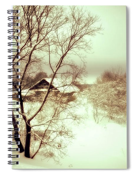 Winter Loneliness Spiral Notebook