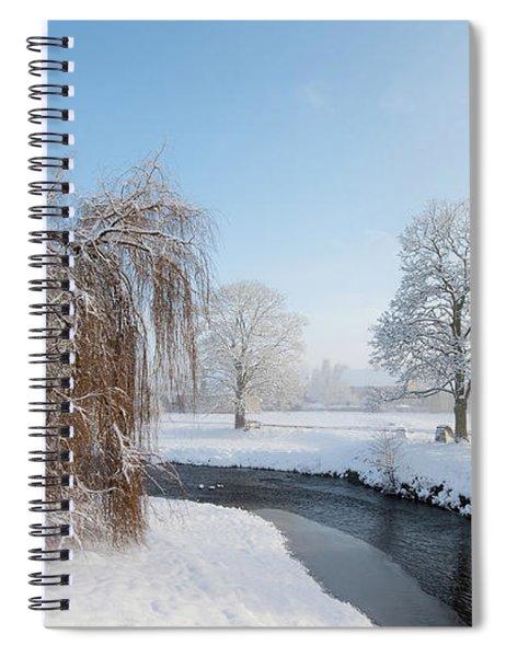 Winter Morning At Sinnigton Spiral Notebook