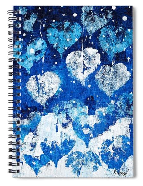Winter Nature Spiral Notebook