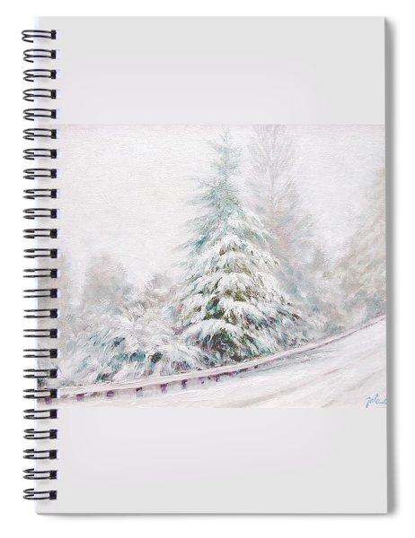 Winter Of  04 Spiral Notebook