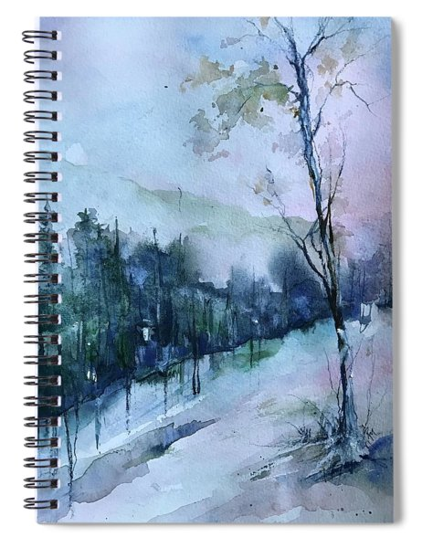 Winter Paradise Spiral Notebook
