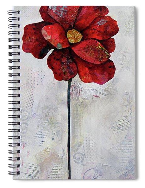 Winter Poppy II Spiral Notebook