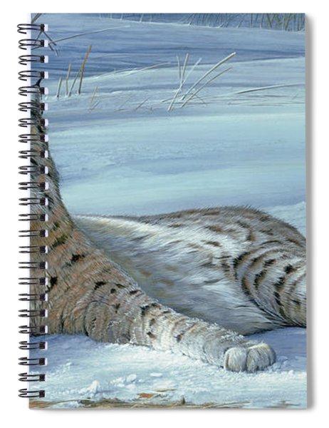 Winter Prince Spiral Notebook