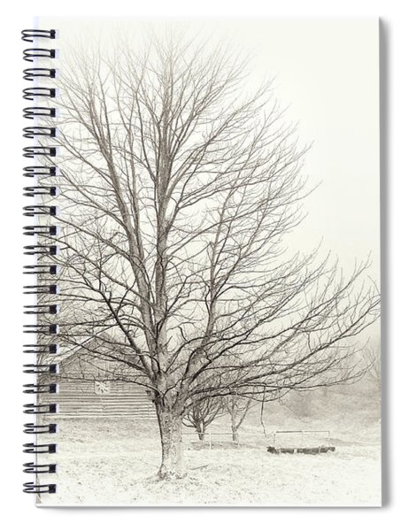 Winter Ranch Spiral Notebook