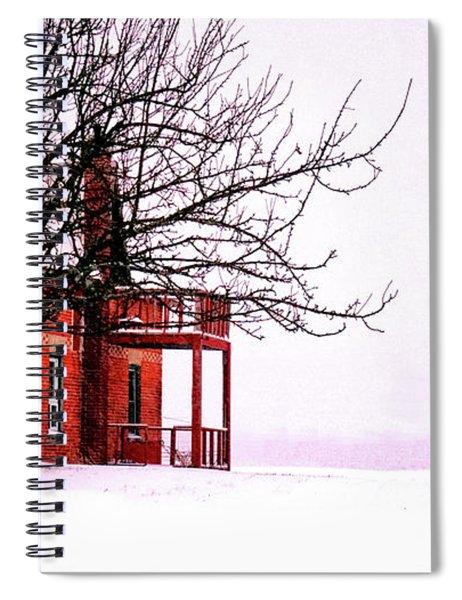 Winter Retreat Spiral Notebook