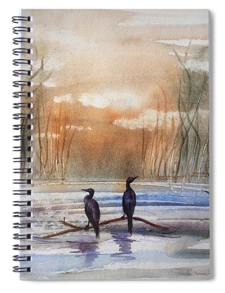 Winter Sereniny Spiral Notebook