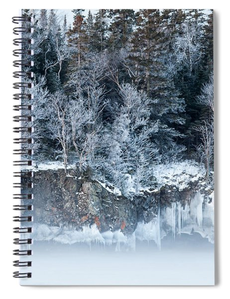 Winter Shore Spiral Notebook