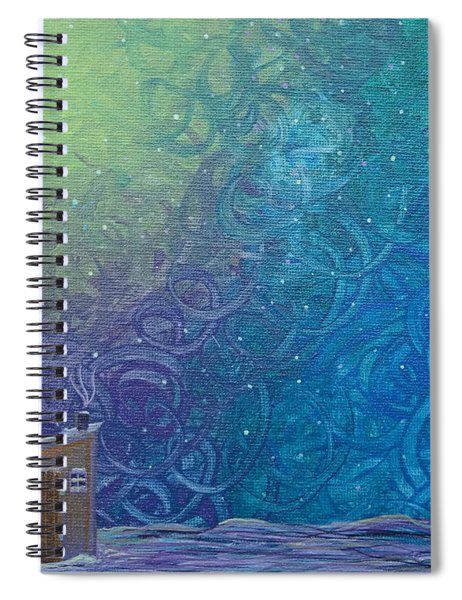 Winter Solitude 2 Spiral Notebook