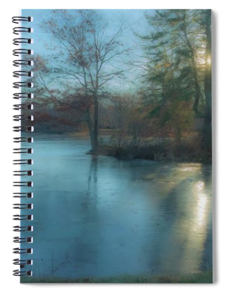 Winter Solstice 2017 North Easton Ma Spiral Notebook