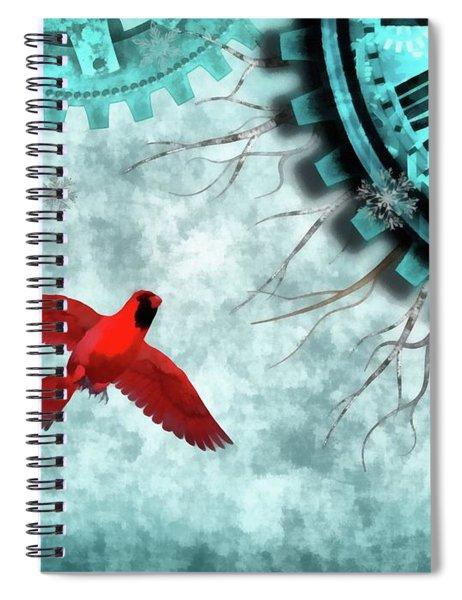 Winter Solstice 2017 Spiral Notebook