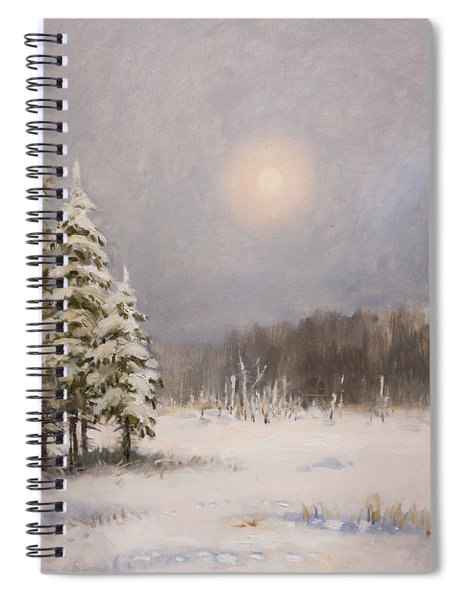 Winter Stillness Spiral Notebook
