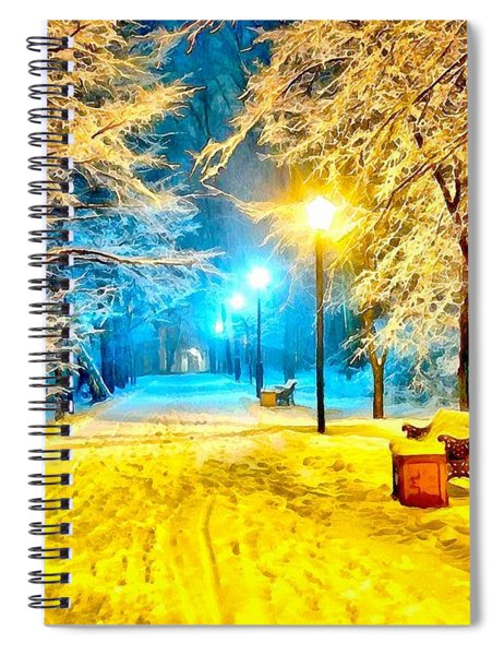 Winter Street Spiral Notebook