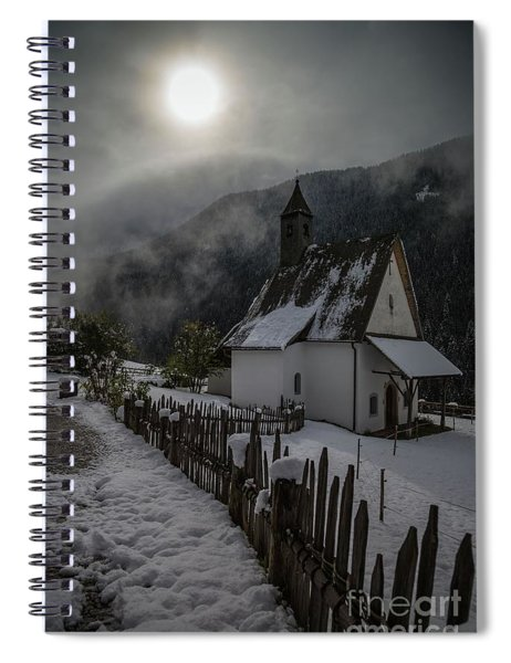Winter Sun Spiral Notebook